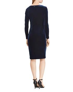 Ralph Lauren - Velvet Surplice Dress