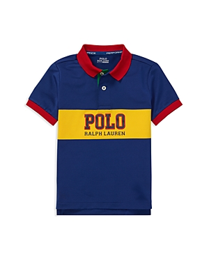 Polo Ralph Lauren Boys' Contrast Performance Polo - Little Kid