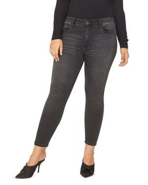 Sanctuary Plus Social Standard Skinny Ankle Jeans in Art School Gray 3081864