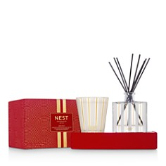 NEST Fragrances - Holiday Candle & Diffuser Set