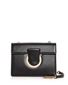 Salvatore Ferragamo - Thalia Medium Leather Convertible Shoulder Bag