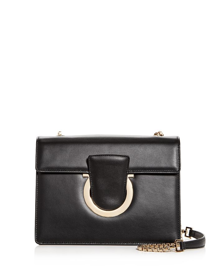 e087b144af Salvatore Ferragamo Thalia Medium Leather Convertible Shoulder Bag ...