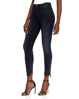MOTHER - Stunner Frayed Step-Hem Skinny Jeans in Last Call