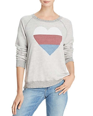 Sundry Heart Distressed Sweatshirt