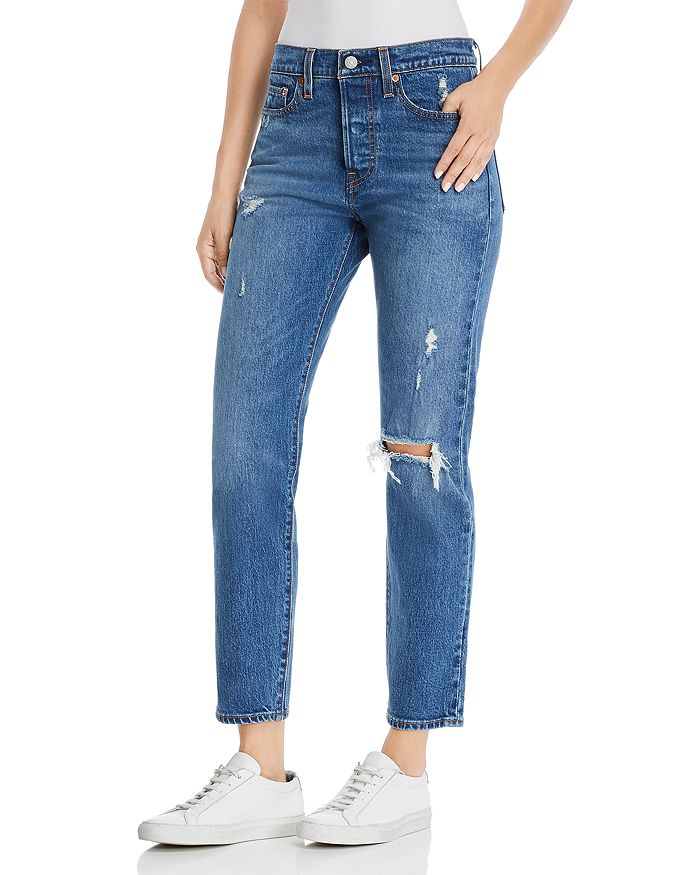 3ebb4624 Levi's Wedgie Icon Fit Straight Jeans in Higher Love | Bloomingdale's
