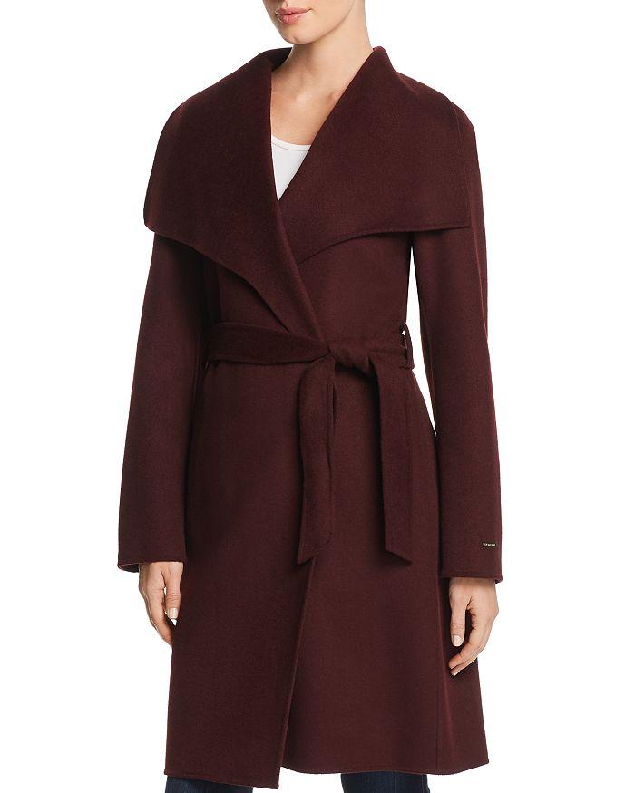 T Tahari - Ellie Wrap Coat