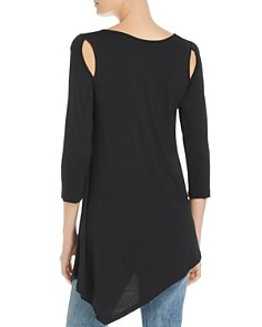 Alison Andrews - Cold-Shoulder Asymmetric Top