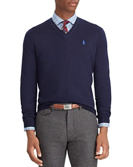 Polo Ralph Lauren - Merino Wool V-Neck Sweater