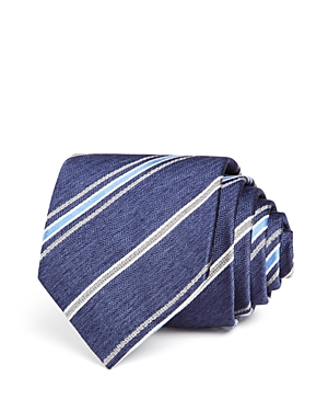 The Men's Store at Bloomingdale's Herringbone Multi-Stripe Classic Tie
