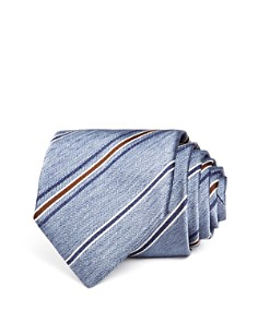 The Men's Store at Bloomingdale's Herringbone Multi-Stripe Classic Tie_0
