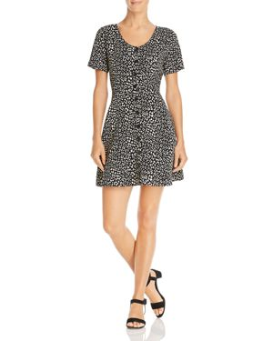 Sadie & Sage Short-Sleeve Printed Dress