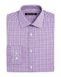 Michael Kors Boys' Plaid Dress Shirt - Big Kid - Bloomingdale's_0