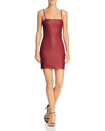 alexanderwang.t - Leather Mini Dress