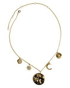 """Jules Smith - Charmed Life Necklace, 11.5"""""""