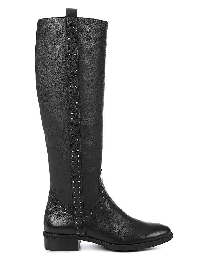 8b27ccefdc55 Sam Edelman - Women s Prina Round Toe Tall Leather Boots