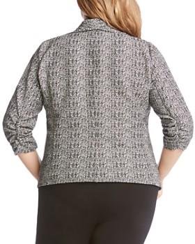 Karen Kane Plus - Shirred Sleeve Jacket