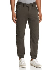 G-STAR RAW - Rackam Straight Fit Pants in Asfalt