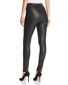 BOSS - Simounia Leather Leggings