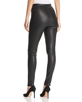 BOSS - Simounia Leather Leggings