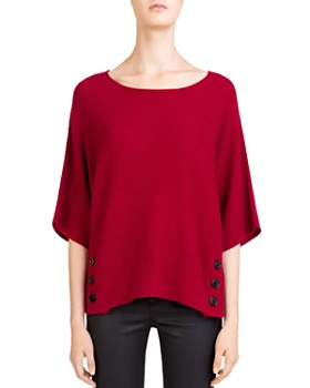 Gerard Darel - Carly Dolman-Sleeve Sweater