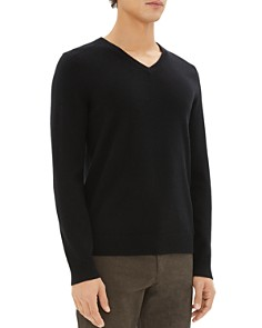 Theory - Valles Cashmere V-Neck Sweater