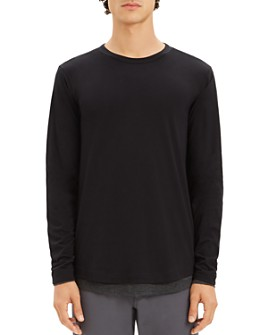 Theory - Double-Layer Long Sleeve Tee