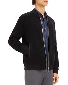 Theory - Denzil Zip-Front Fleece Jacket