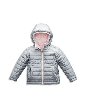 5bad47606 The North Face® Girls' Reversible Mossbud Swirl Quilted & Fleece ...
