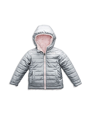 The North Face Girls' Reversible Mossbud Swirl Quilted & Fleece Jacket - Little Kid