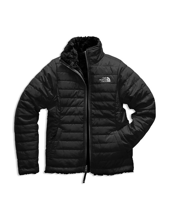 The North Face® - Unisex Reversible Mossbud Swirl Quilted & Fleece Jacket - Big Kid, Little Kid