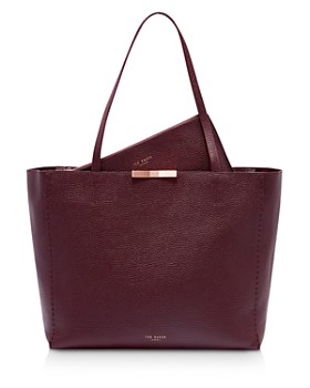 Ted Baker Leather Bow Detail Per Tote