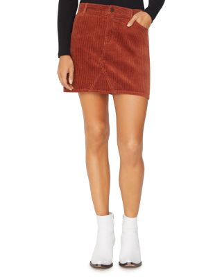 Ryan Corduroy Mini Skirt by Sanctuary