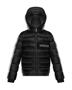 Moncler - Boys' Aiton Logo Down Puffer Coat - Little Kid