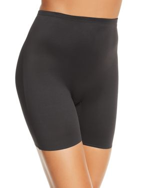 TC FINE INTIMATES Waistline Bike Shorts in Black