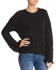 Joe's Jeans - Khaleesi Hook-Sleeve Sweatshirt