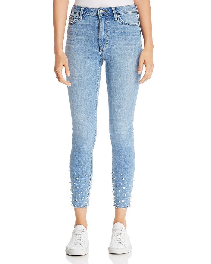 522bd89b85 Joe s Jeans Charlie Embellished Ankle Skinny Jeans in Sisley ...