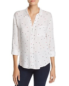 Rails - Rocsi Heart Print Shirt