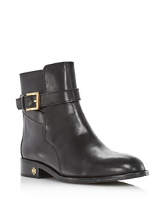 Tory Burch - Women's Brooke Leather Ankle Booties
