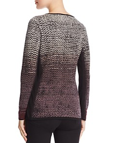 NIC and ZOE - Patterned Ombré Sweater