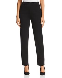 Misook - Straight Pull-On Pants