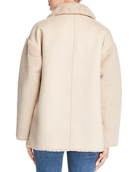 Bernardo - Reversible Faux Shearling Coat
