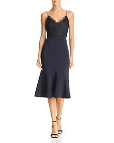 Aijek - Lace-Bodice Dress