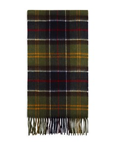Barbour Fringed Tartan Scarf - Bloomingdale's_0