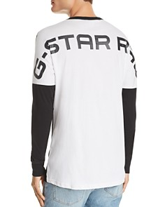 G-STAR RAW - Korpaz Long-Sleeve Logo Spirit Jersey Tee