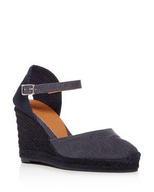 Castaner Women's Platform Wedge Espadrille Sandals