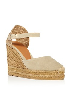 Castañer - Women's Platform Wedge Espadrille Sandals