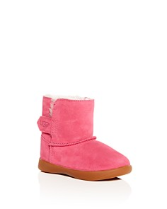 Ugg Girls Keelan Suede Shearling Boots Walker