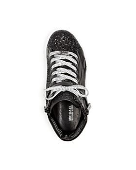 Michael Kors - Girls' Ivy Bleu Glitter High-Top Sneakers - Toddler, Little Kid, Big Kid