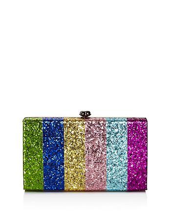 AQUA - Rainbow Stripe Glitter Clutch - 100% Exclusive
