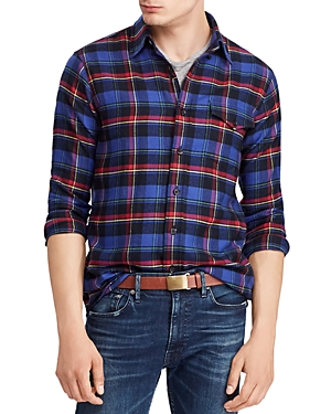 Polo Ralph Lauren Plaid Classic Fit Flannel Shirt